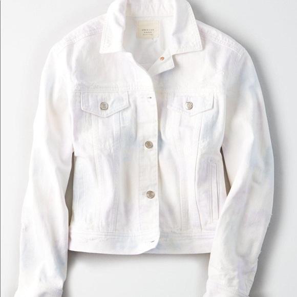 American Eagles Outfitters 🦅 Tie Dye Denim Jacket